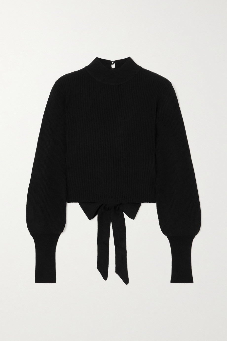 Reformation Osteria open-back ribbed cashmere sweater