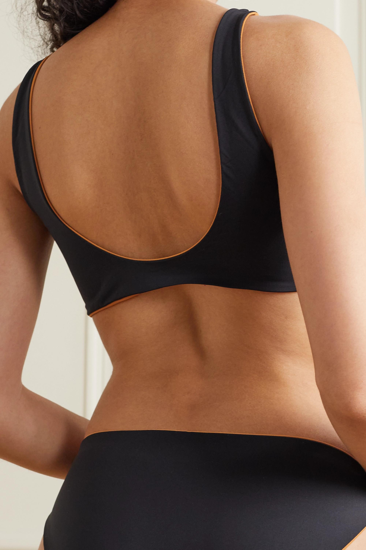Skin + NET SUSTAIN The Ariana wendbares Bikini-Oberteil aus recyceltem Material