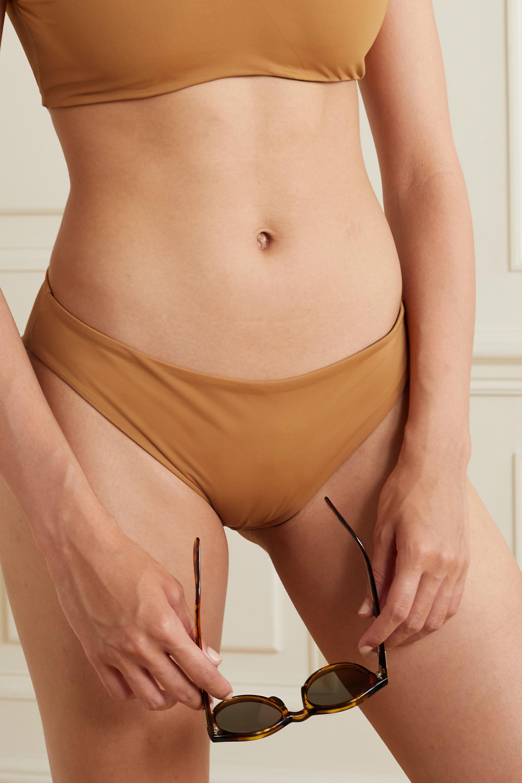 Skin + NET SUSTAIN The Ariana wendbares Bikini-Höschen mit recycelten Fasern