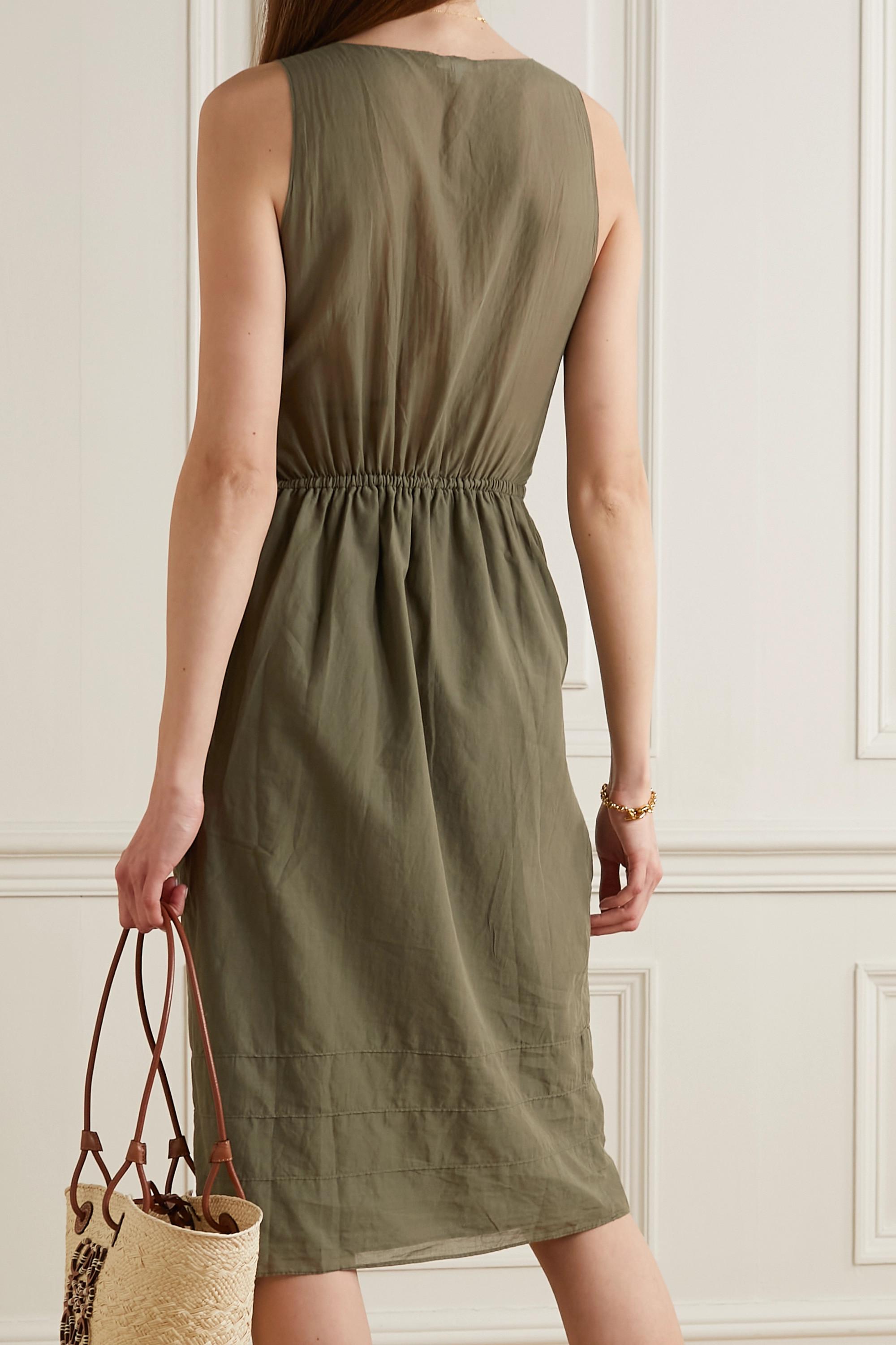 Skin Brenna Kleid aus Baumwollgaze zum Binden