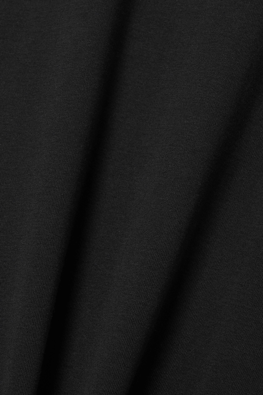 Helmut Lang Cutout cotton-jersey maxi dress
