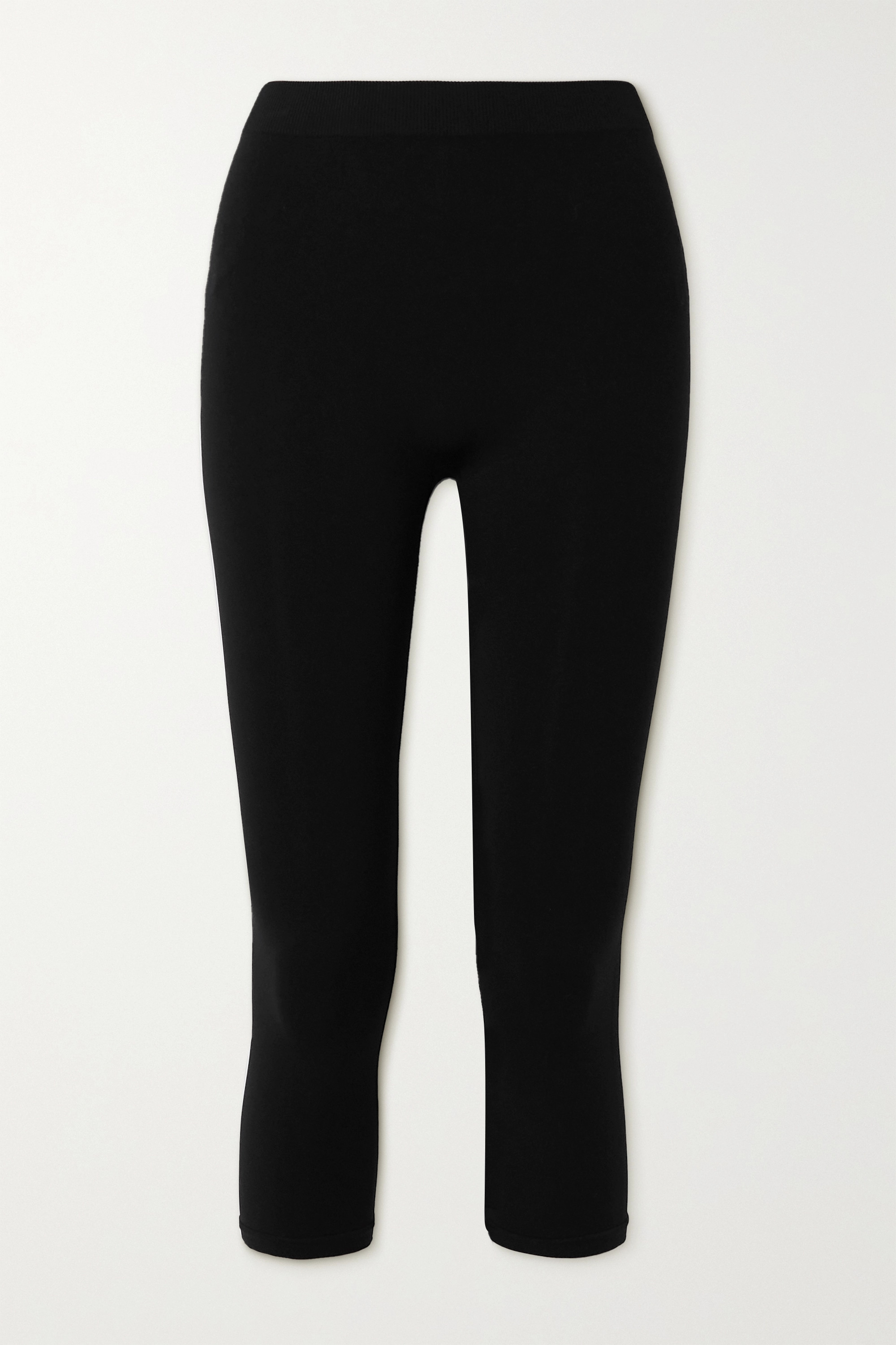 Helmut Lang Cropped stretch-jersey leggings