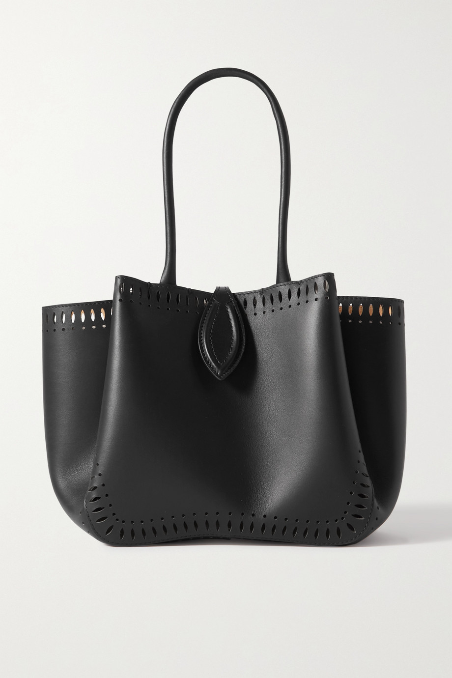Alaïa Angèle 20 XS laser-cut leather tote