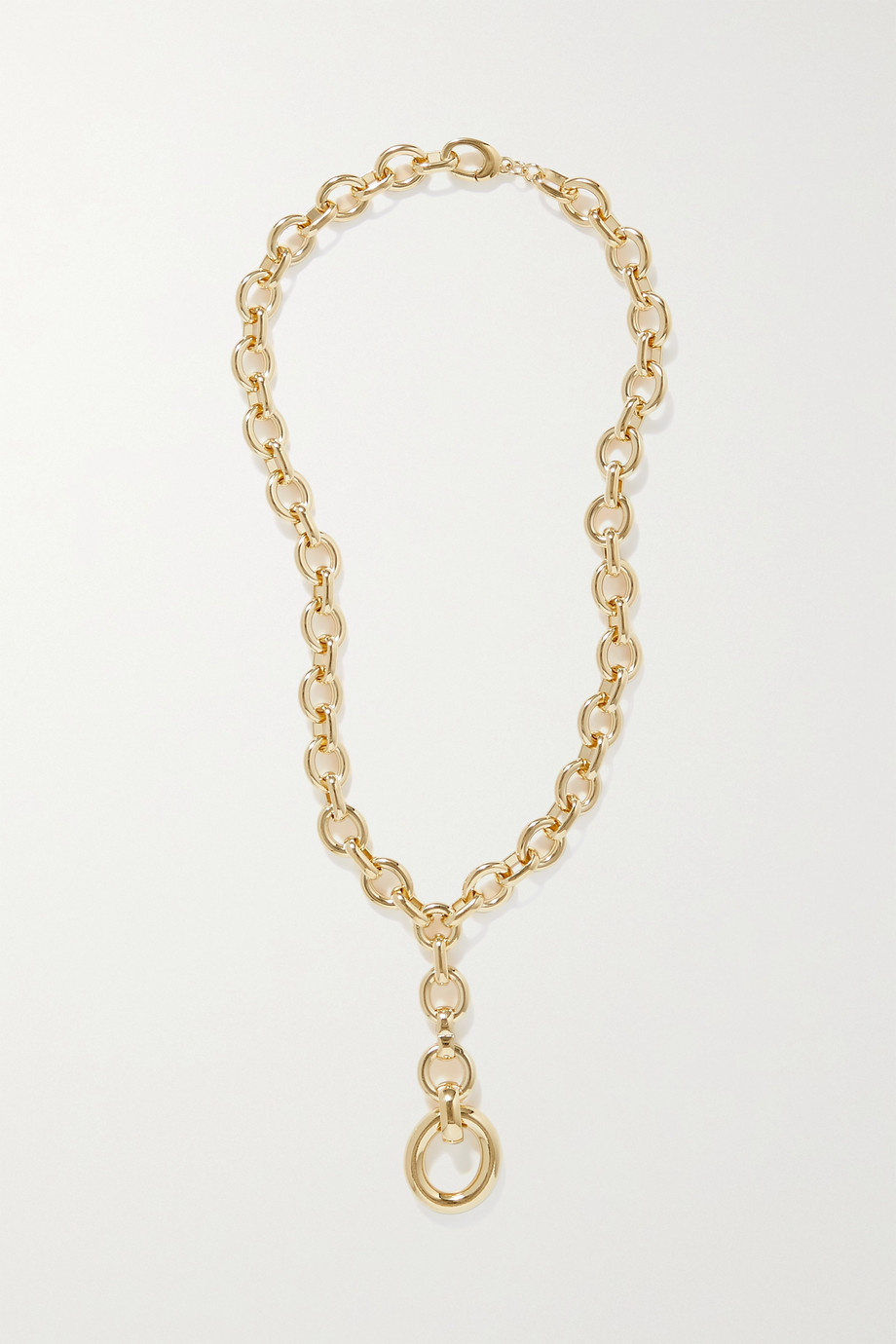 Laura Lombardi Scala gold-plated necklace