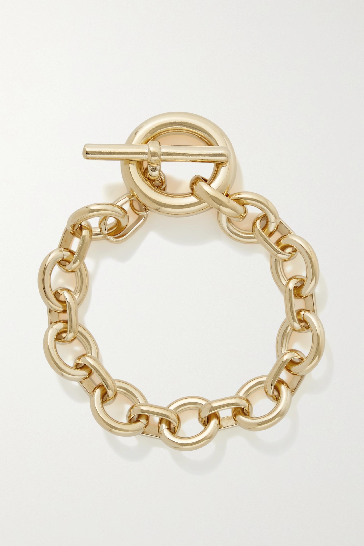 Laura Lombardi Portrait gold-plated bracelet