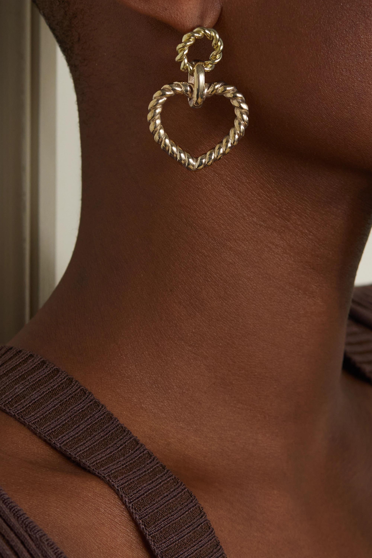 Laura Lombardi Bambola gold-tone earrings