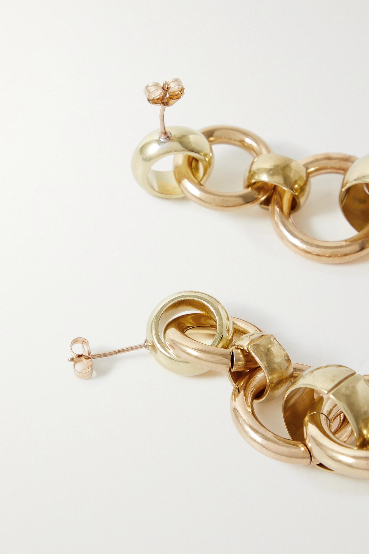 Laura Lombardi Scala gold-tone earrings