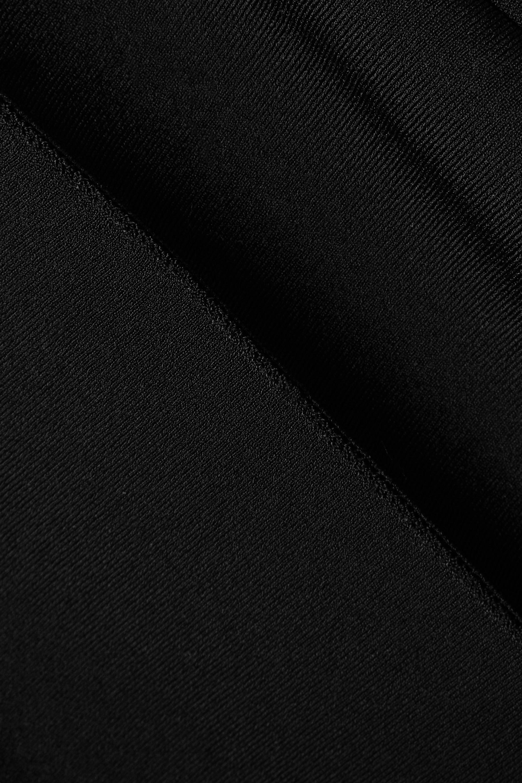 Alaïa Scalloped stretch-knit jumpsuit