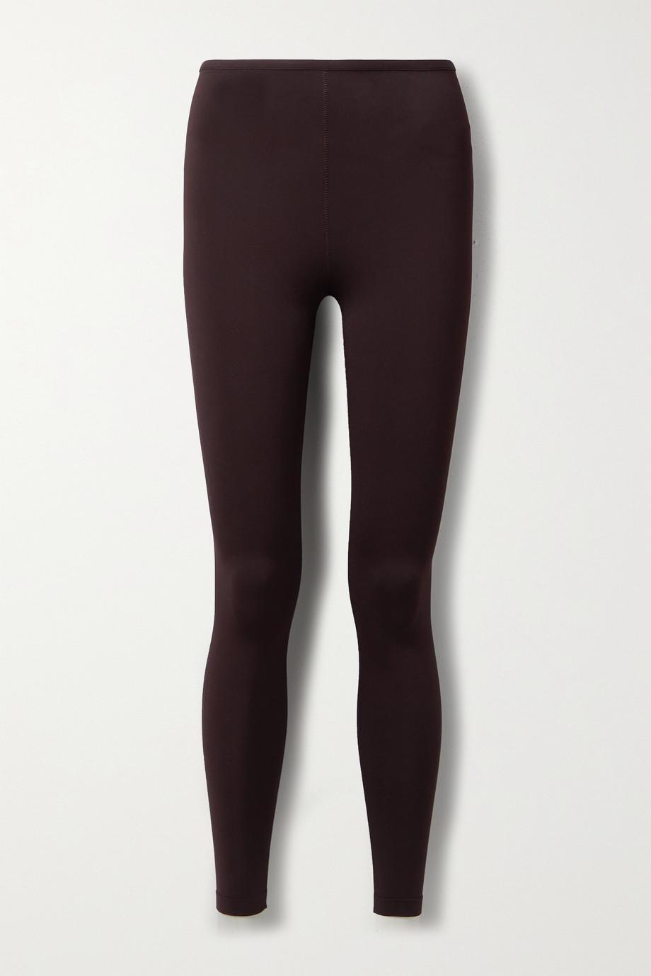 Alaïa Stretch-knit leggings