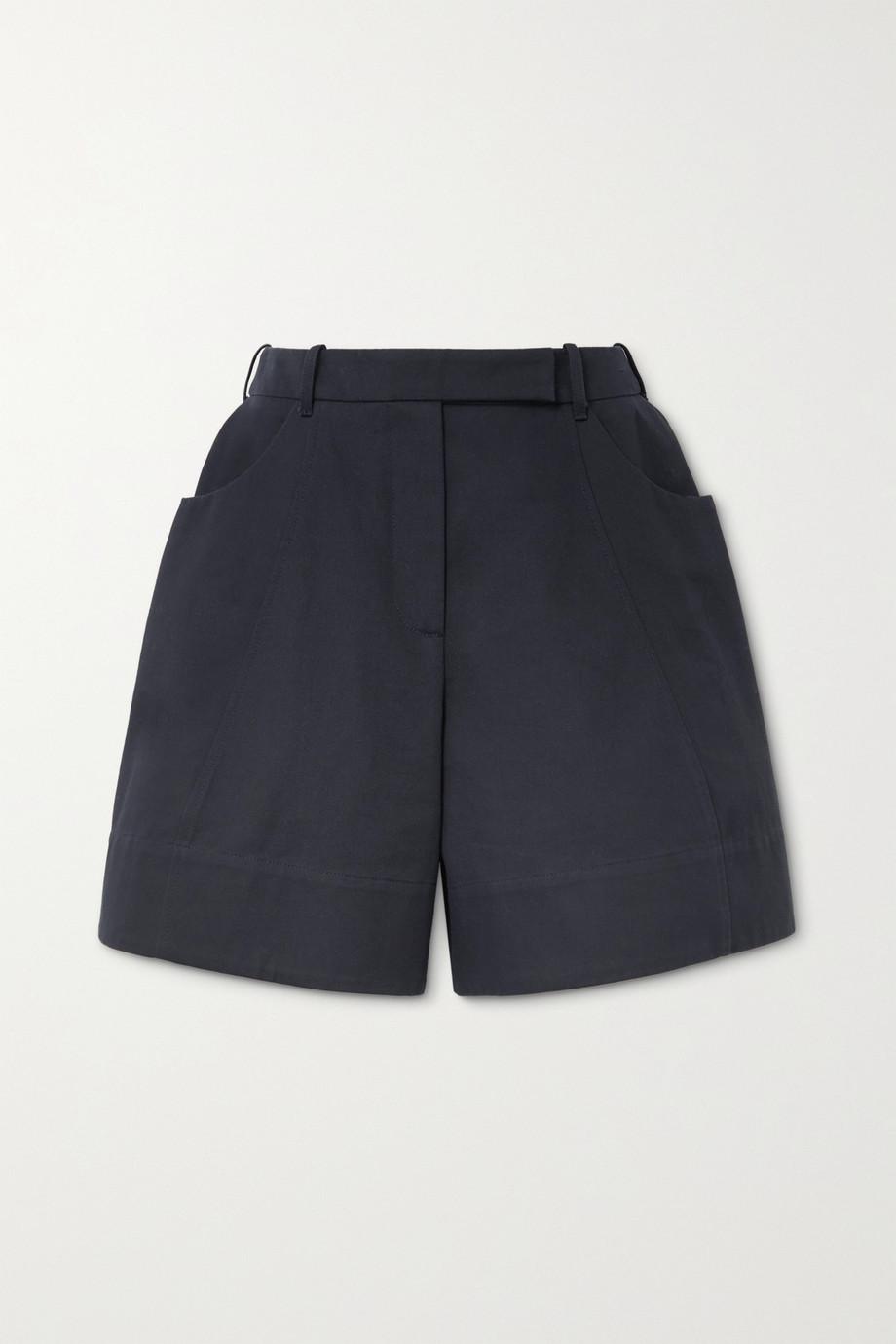 Simone Rocha Cotton-twill shorts