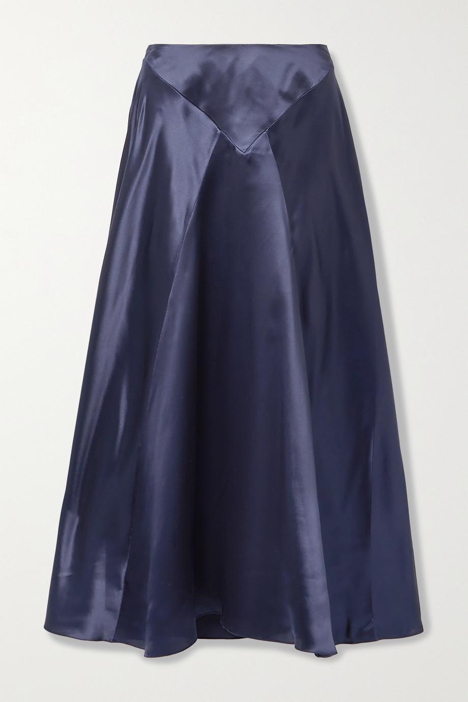 Simone Rocha Silk-satin maxi skirt