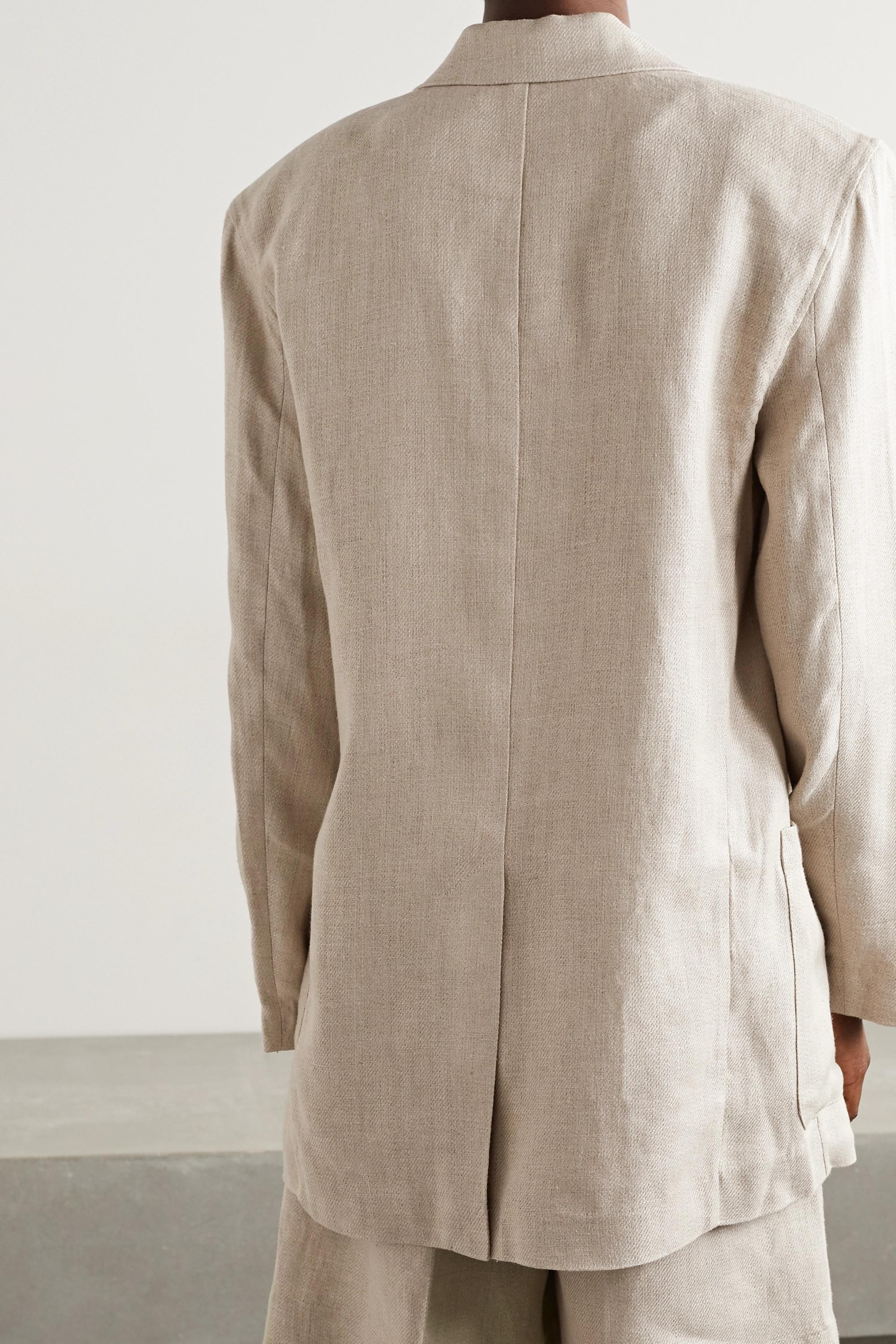 REMAIN Birger Christensen Helen linen blazer