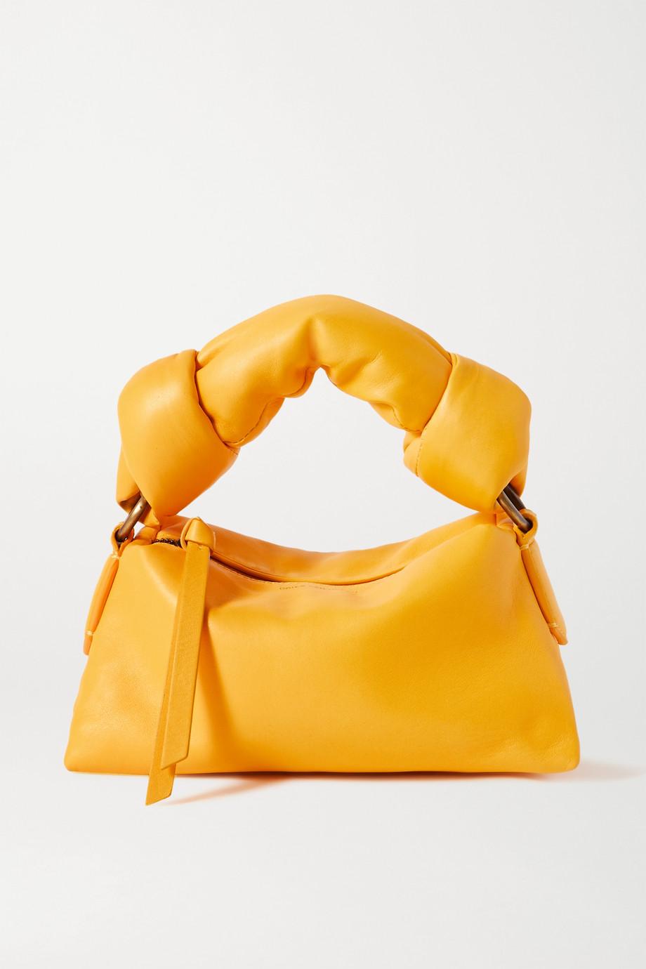 Dries Van Noten Mini padded leather tote