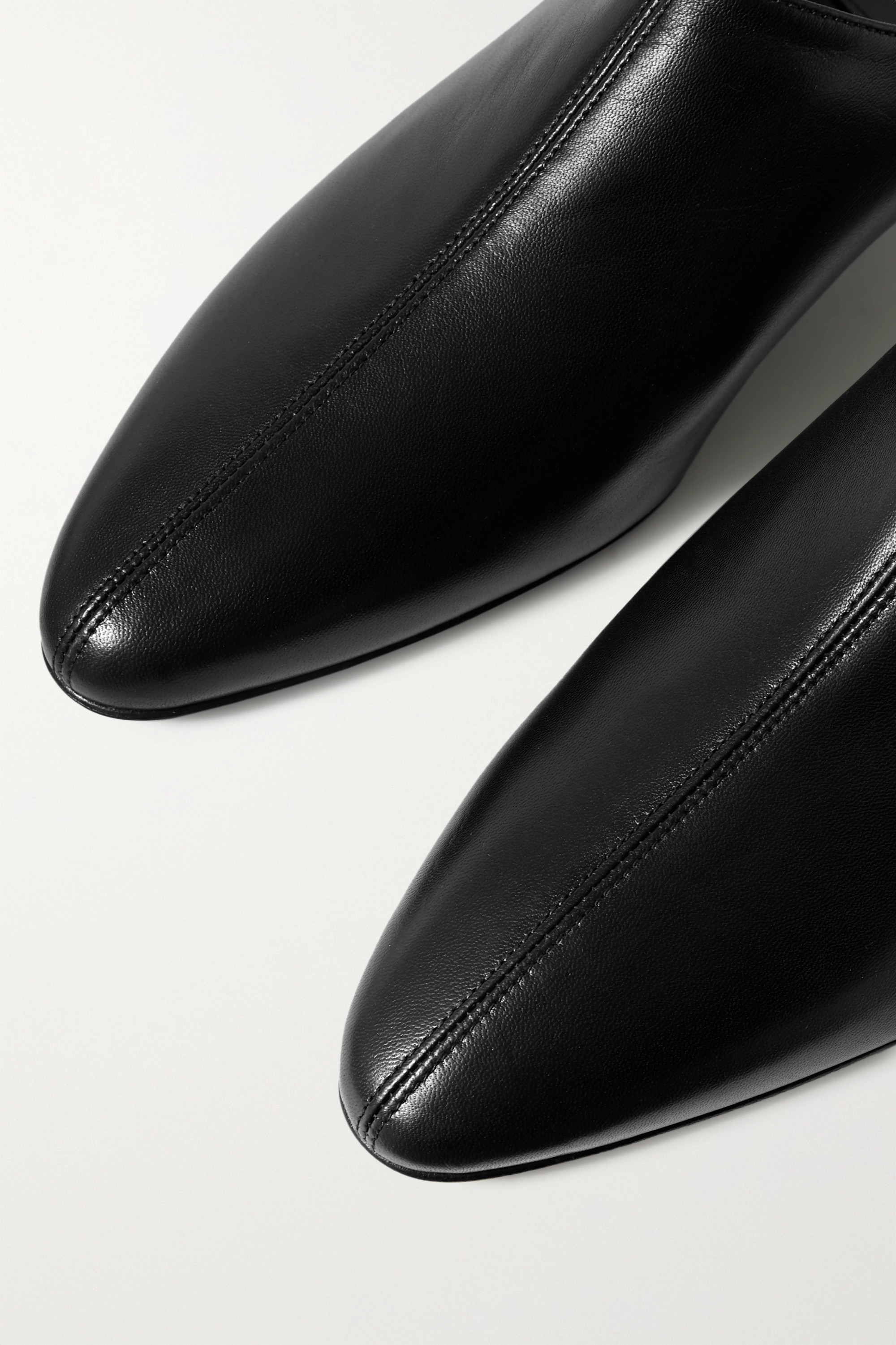 Co Leather mules