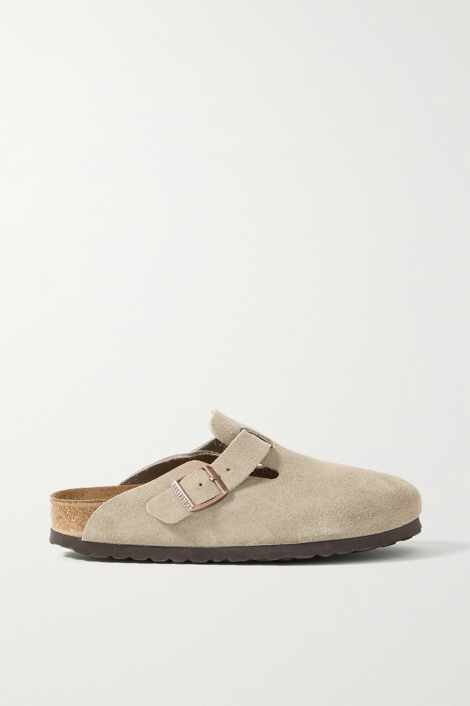 Birkenstock Boston suede slippers