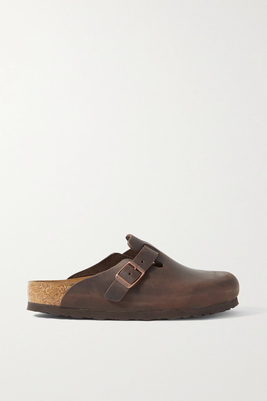 Birkenstock Boston leather slippers