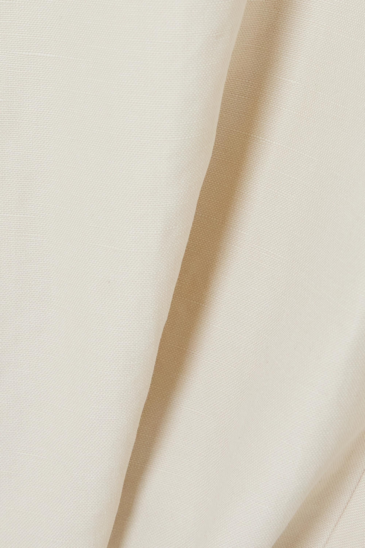 LVIR Cotton and linen-blend shorts