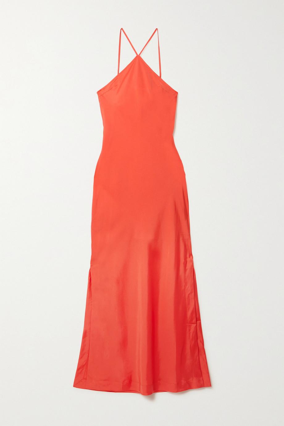 BONDI BORN + NET SUSTAIN Kate organic silk-blend maxi dress