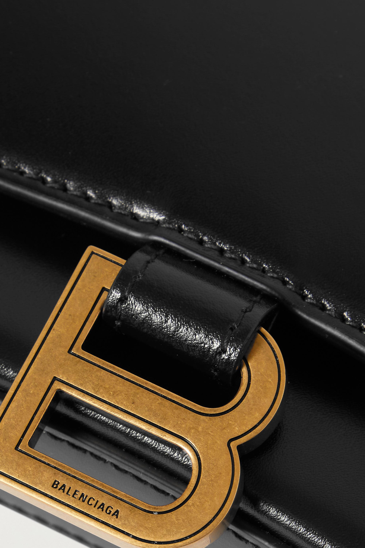 Balenciaga Hourglass Schultertasche aus Leder
