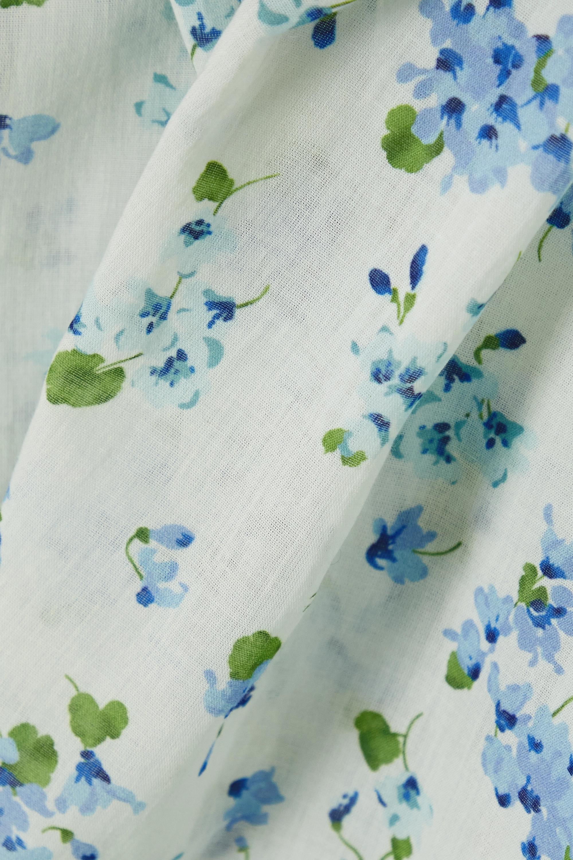 DÔEN Jane Bluse aus Biobaumwoll-Voile mit Blumenprint