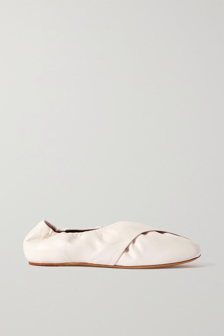 Dries Van Noten Donna leather ballet flats