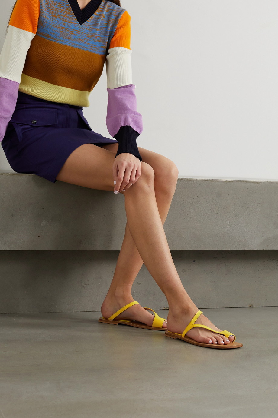 Dries Van Noten Sandales en cuir Donna