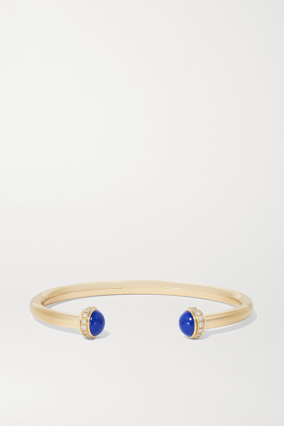 Piaget Possession 18-karat gold, lapis lazuli and diamond cuff