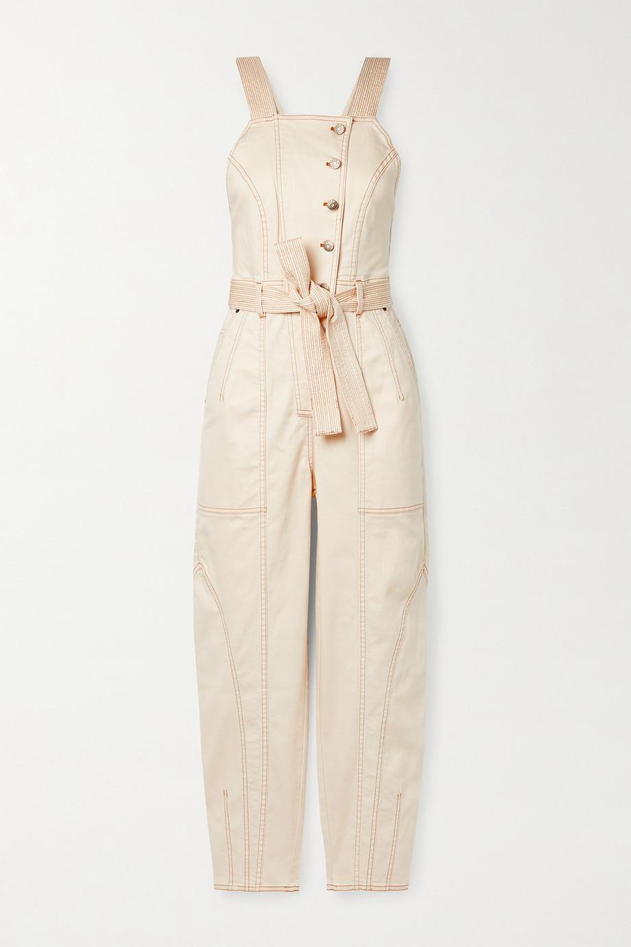 Ulla Johnson Combi-pantalon en jean à ceinture Archer