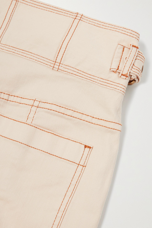Ulla Johnson Albie belted high-rise wide-leg denim jeans