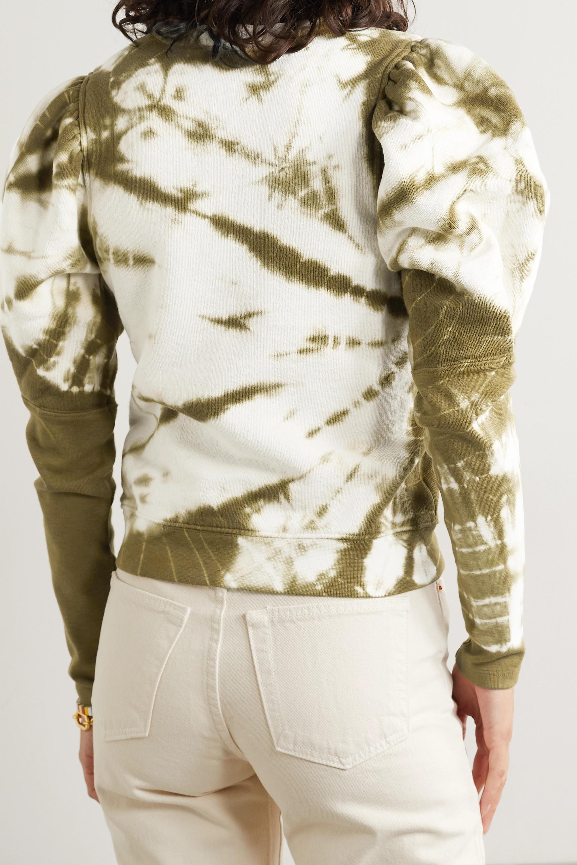 Ulla Johnson Jude tie-dyed cotton-jersey sweatshirt