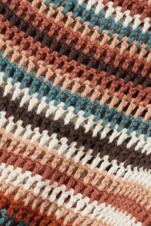 Ulla Johnson Constanza cropped crocheted cotton top