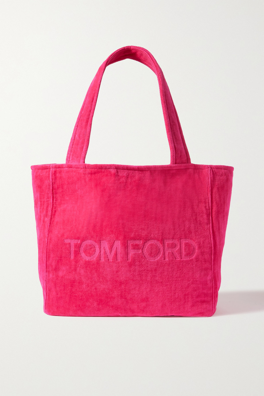 TOM FORD TF Shopper mittelgroße Tote aus Frottee