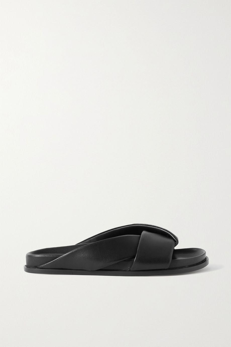 Emme Parsons Leather slides