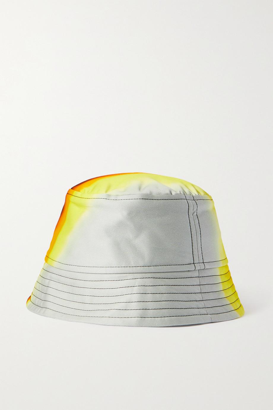 Dries Van Noten Fischerhut aus bedrucktem Baumwollsatin