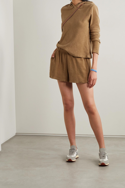 Suzie Kondi Organic cotton-terry shorts