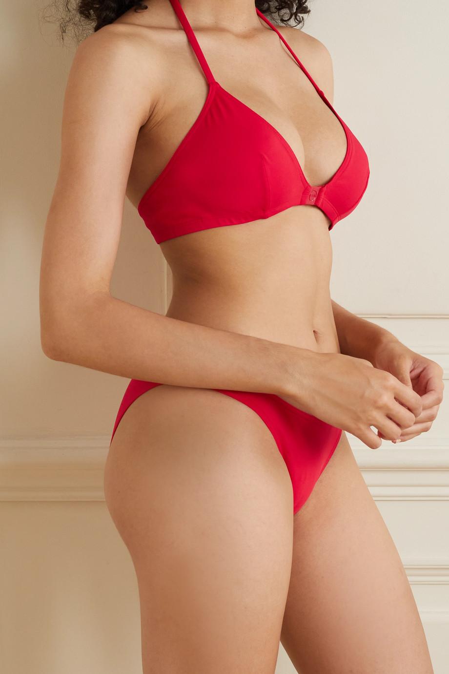 Eres Clip Clic triangle bikini top
