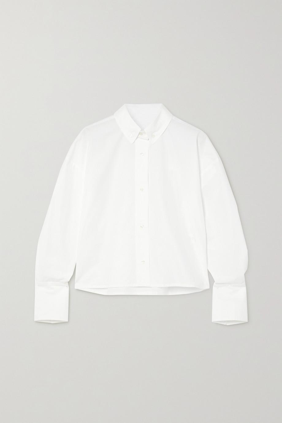 LOULOU STUDIO Pulau cotton-poplin shirt