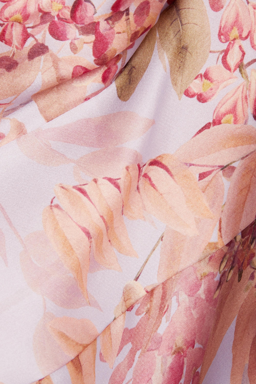 Zimmermann Wild Botanica floral-print silk-organza dress