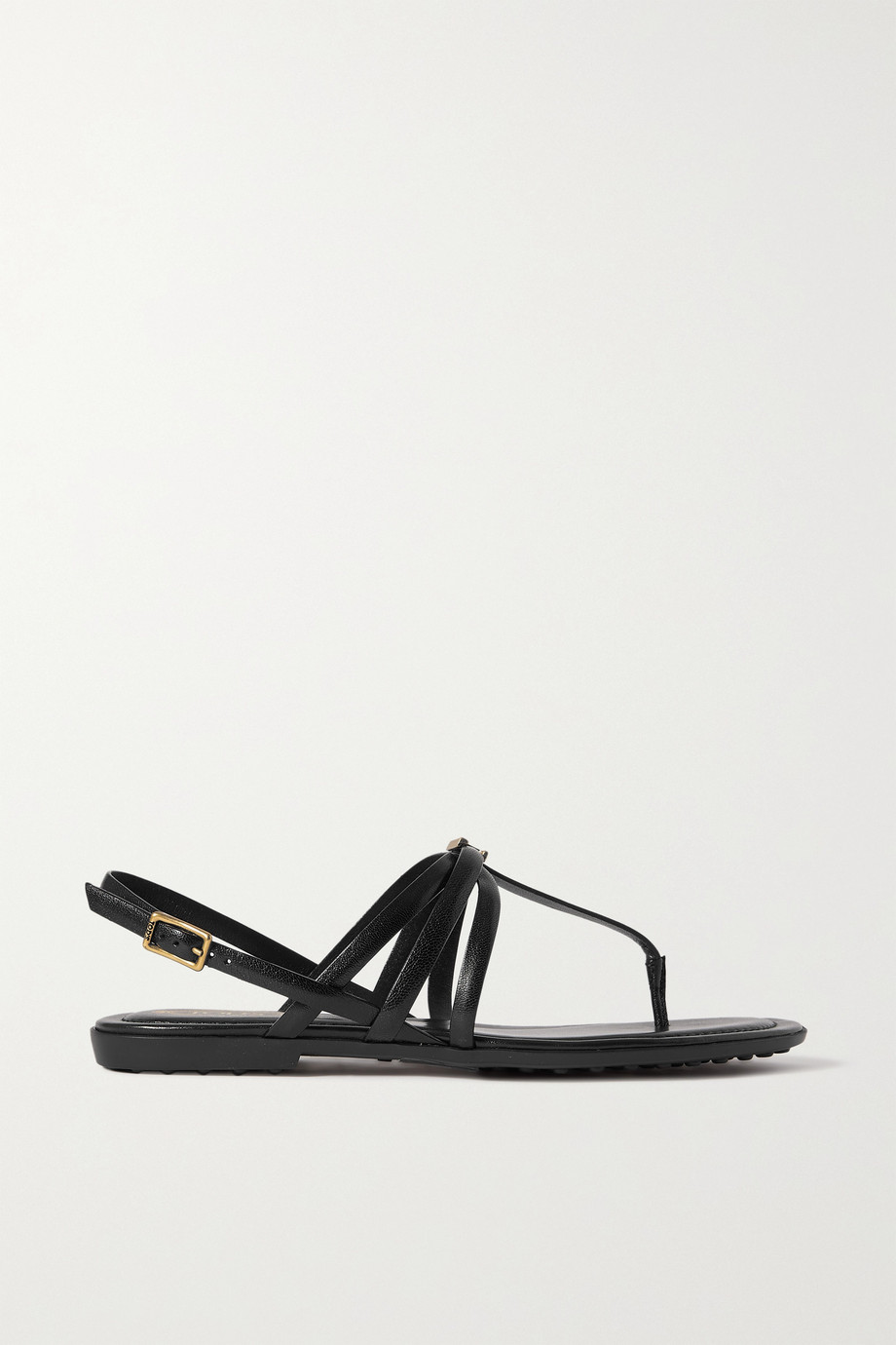 Tod's Sandalen aus Leder mit Logoverzierung