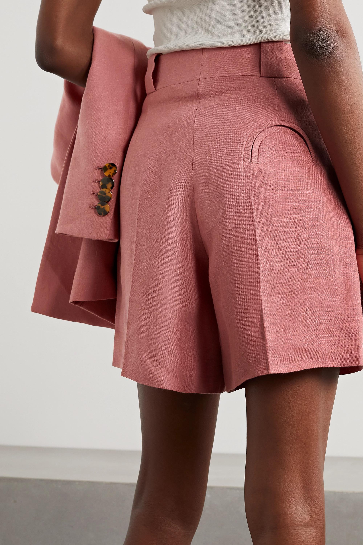 Blazé Milano Short en lin à plis Midday Sun