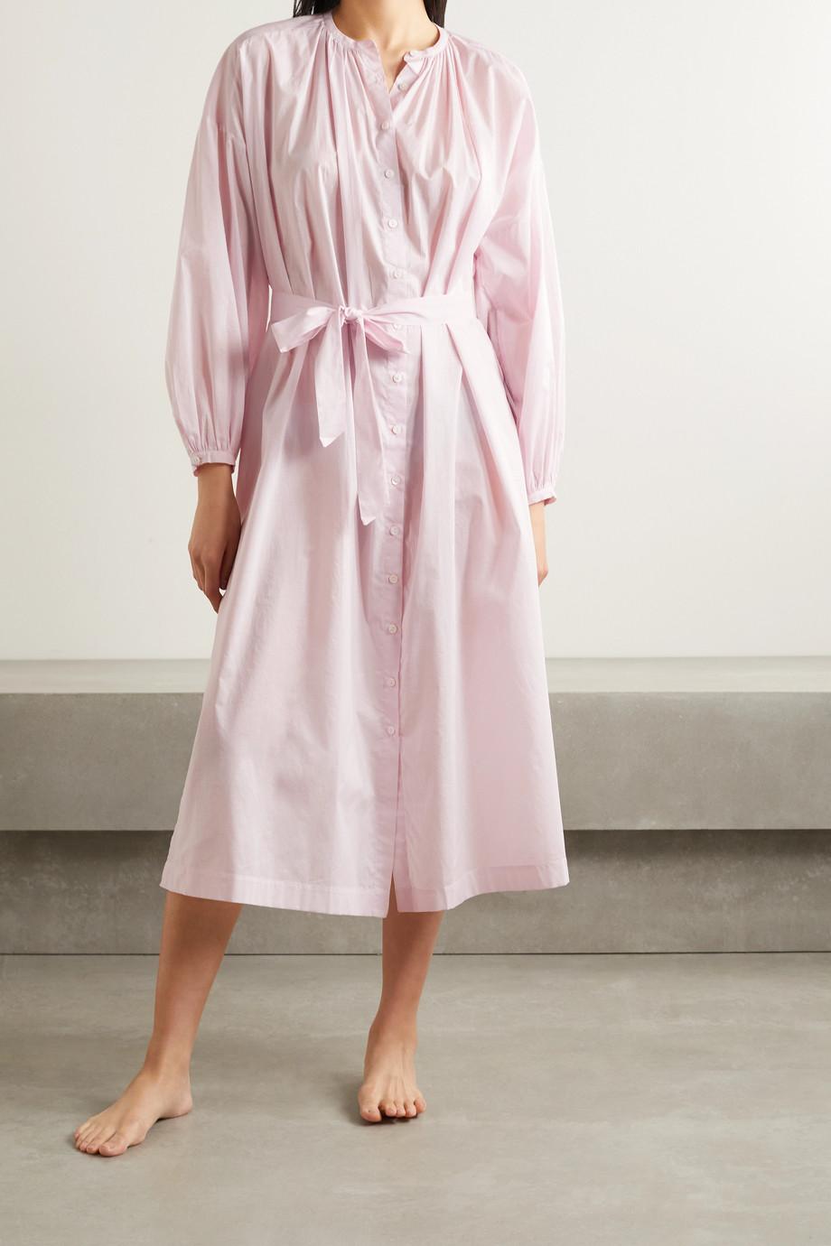 Pour Les Femmes Mona cotton-voile nightdress