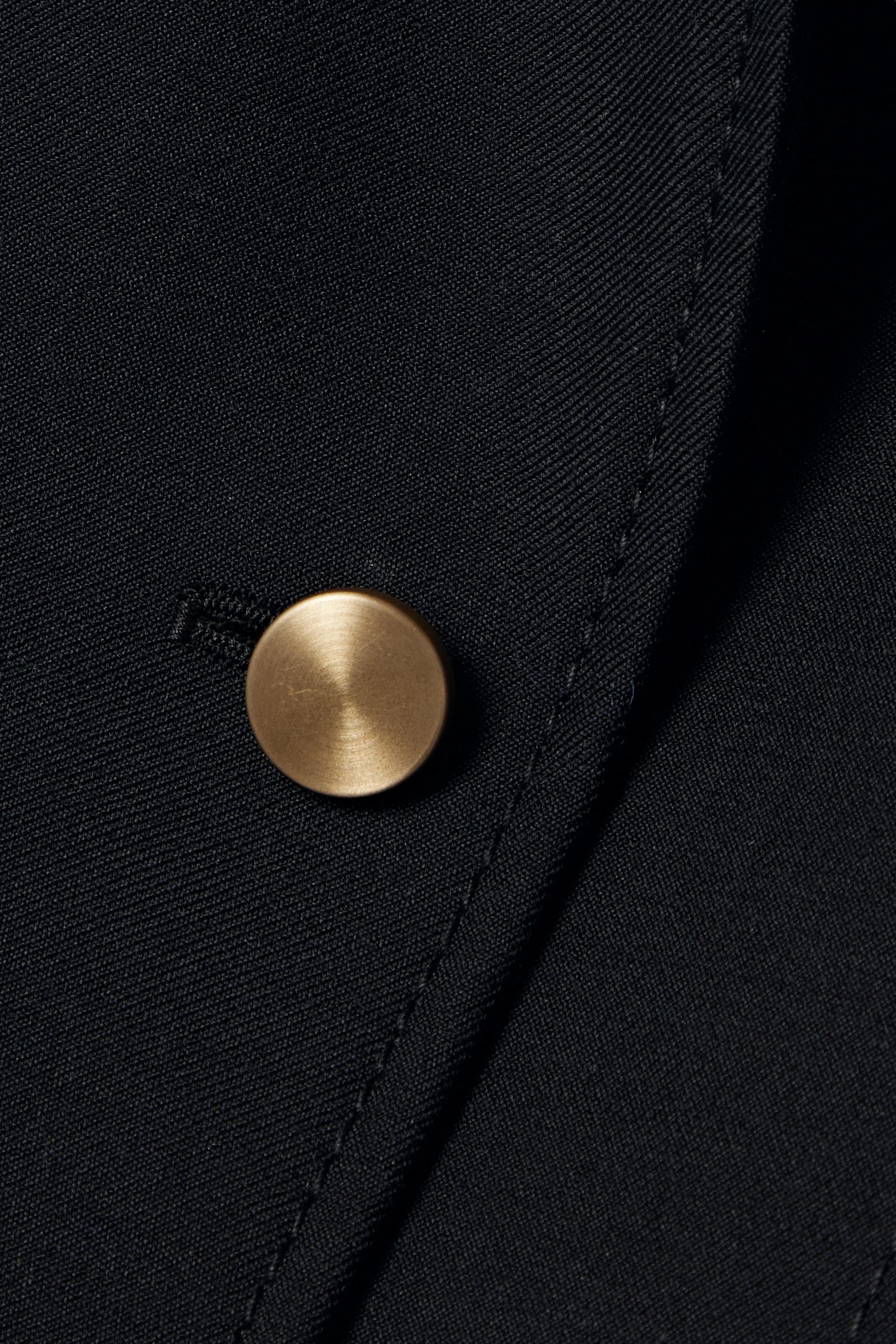 Loewe Wool-twill peplum jacket