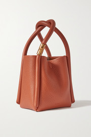 BOYY Lotus 12 textured-leather tote