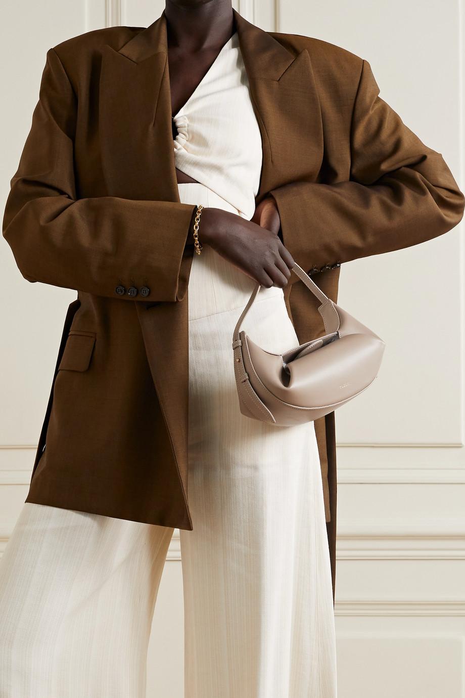 Yuzefi Fortune Cookie mini leather tote