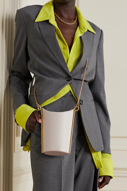 Yuzefi Pitta leather shoulder bag