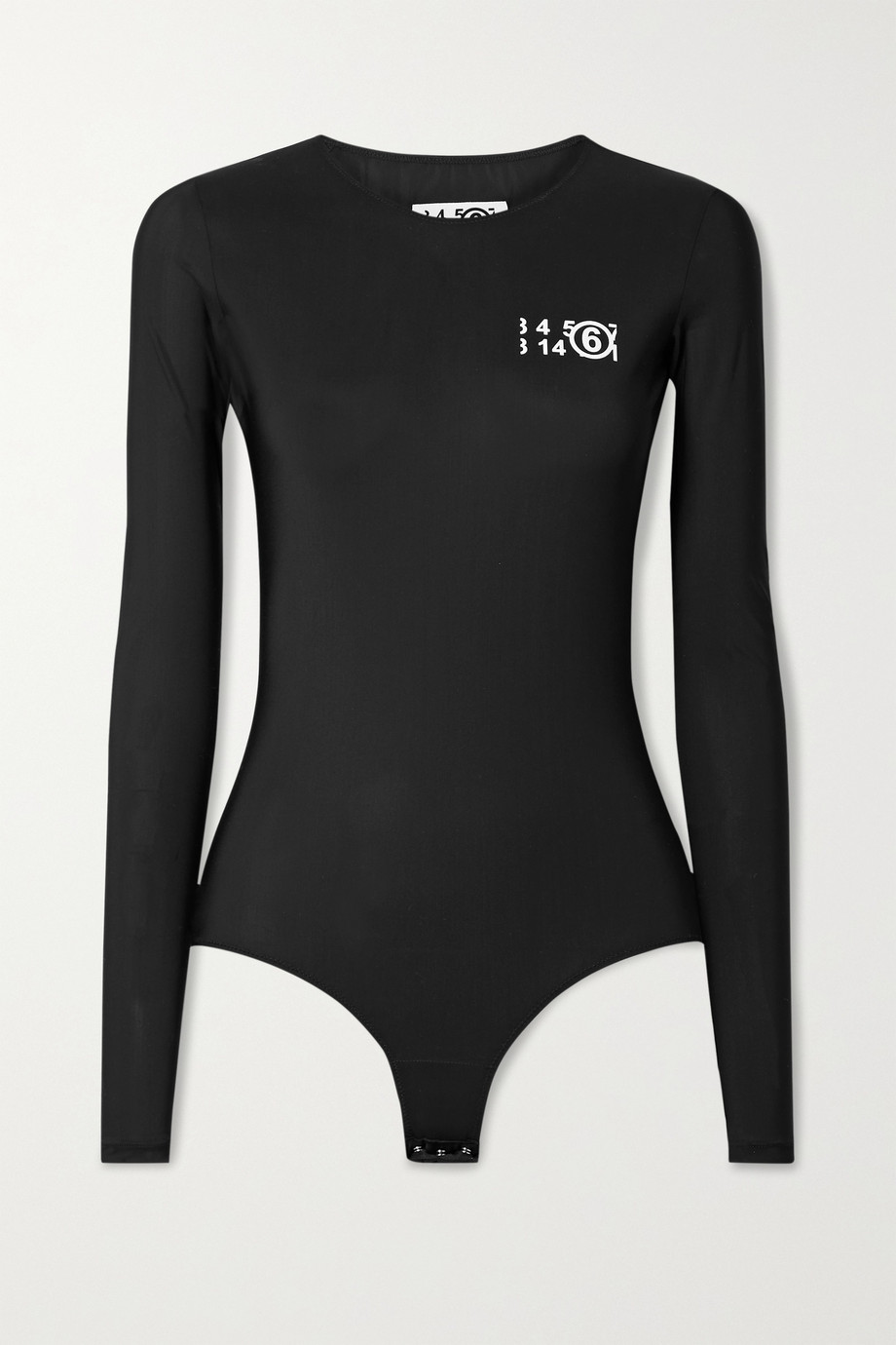 MM6 Maison Margiela Printed stretch-jersey bodysuit