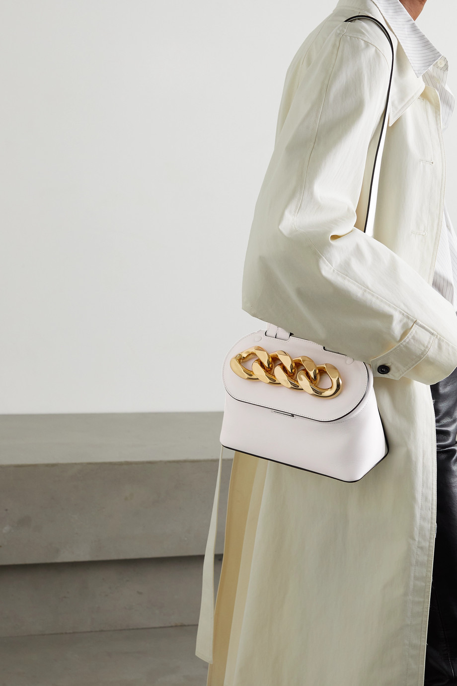 JW Anderson Chain Lid small leather shoulder bag