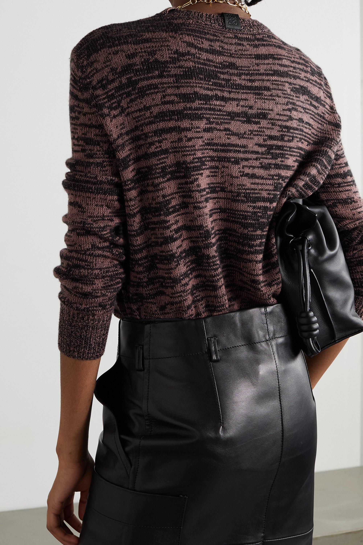 Loewe Mélange cashmere sweater