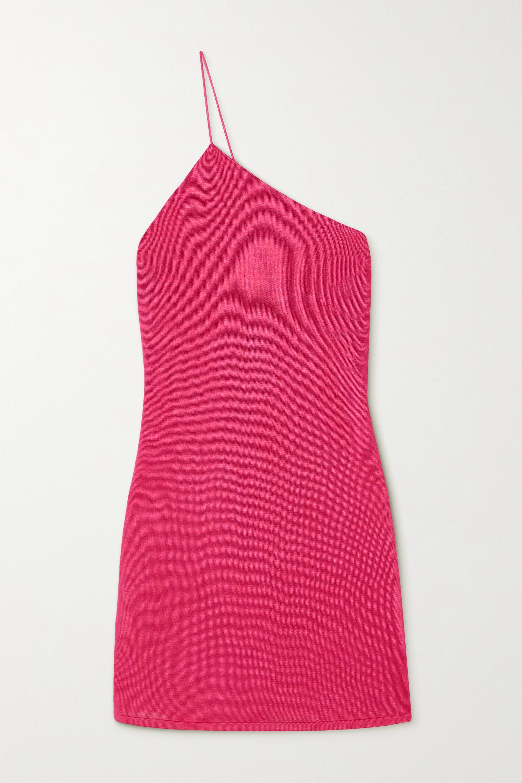 GAUGE81 Mini-robe asymétrique en mailles Beja