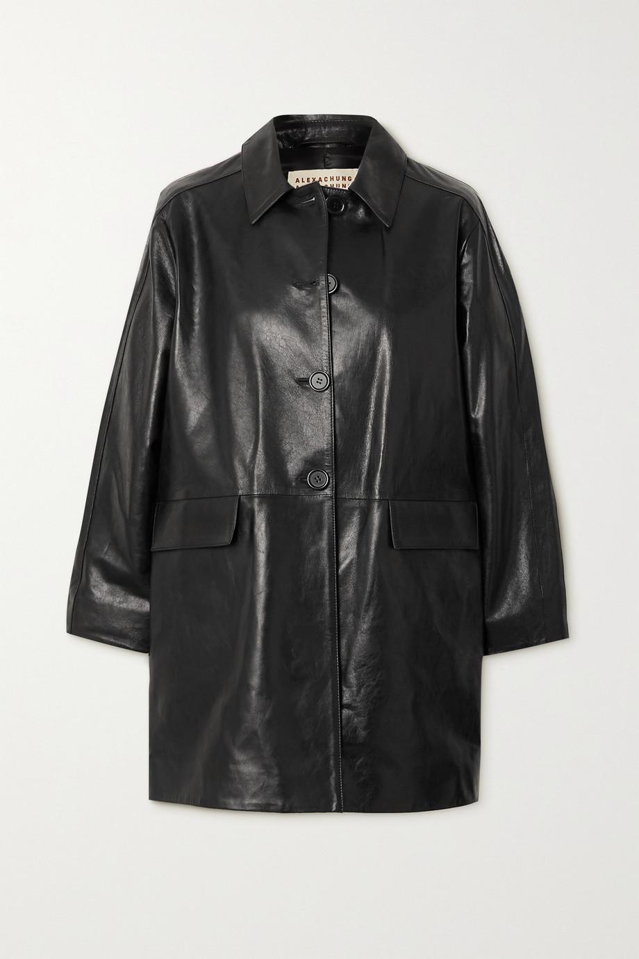 ALEXACHUNG Mulholland leather jacket